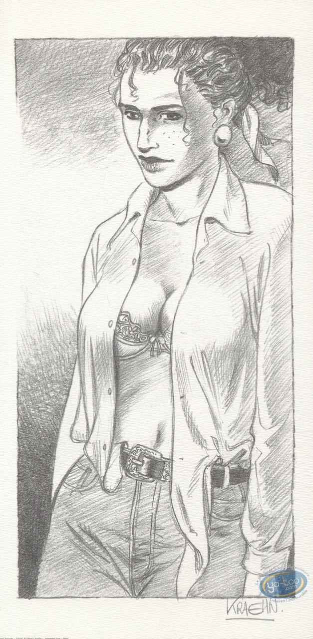Offset Print, Gil Saint André : Djida