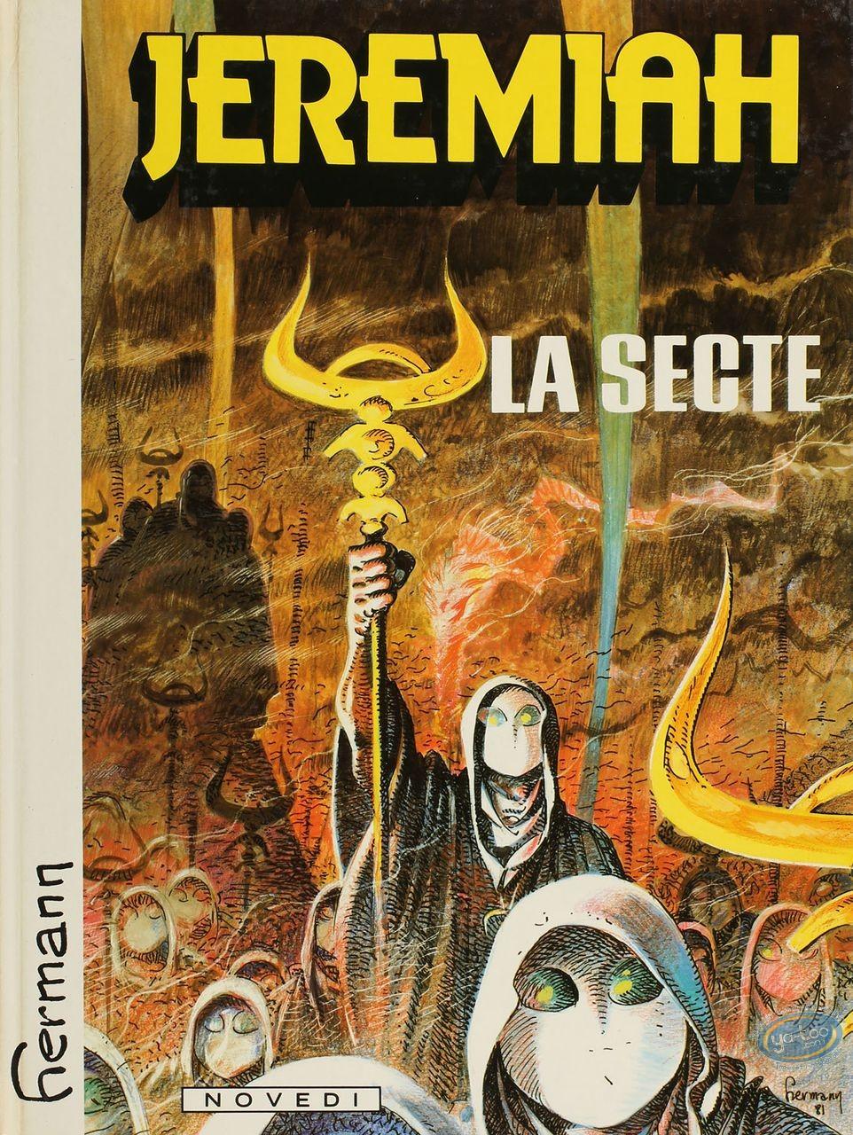 Listed European Comic Books, Jérémiah : La Secte (very good condition)