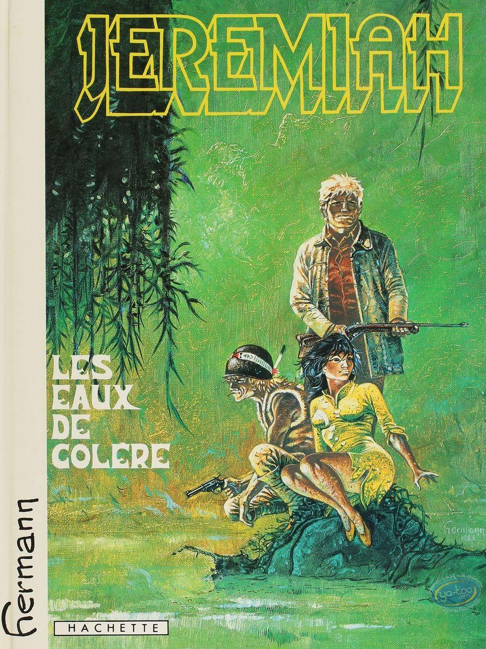 Listed European Comic Books, Jérémiah : Les Yeux de Colere (very good condition)