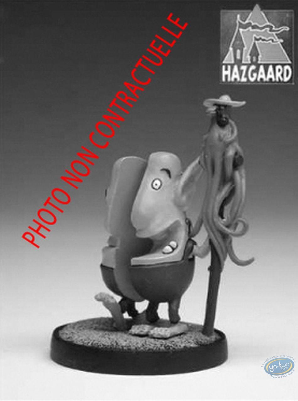 Metal Figurine, Donjon : Jean-Jean & Yvette (unpainted)