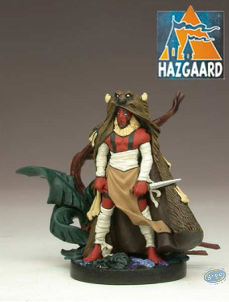 Metal Figurine, Luuna : Bad Guys Chief