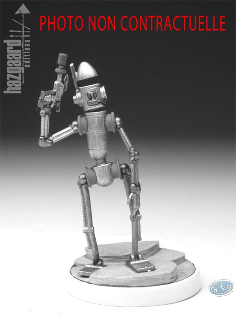 Metal Figurine, Nef des Fous (La) : Robot - Black Horse (unpainted)