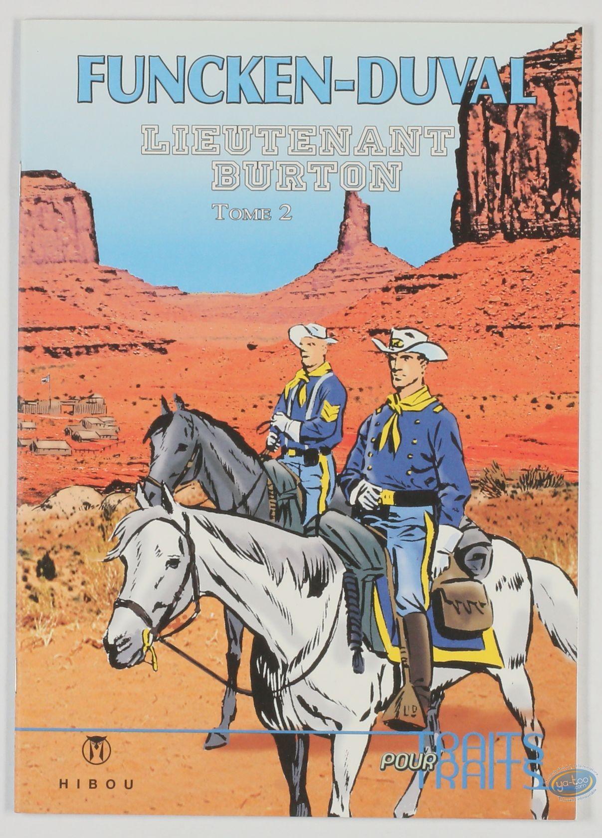 Reduced price European comic books, Lieutenant Burton