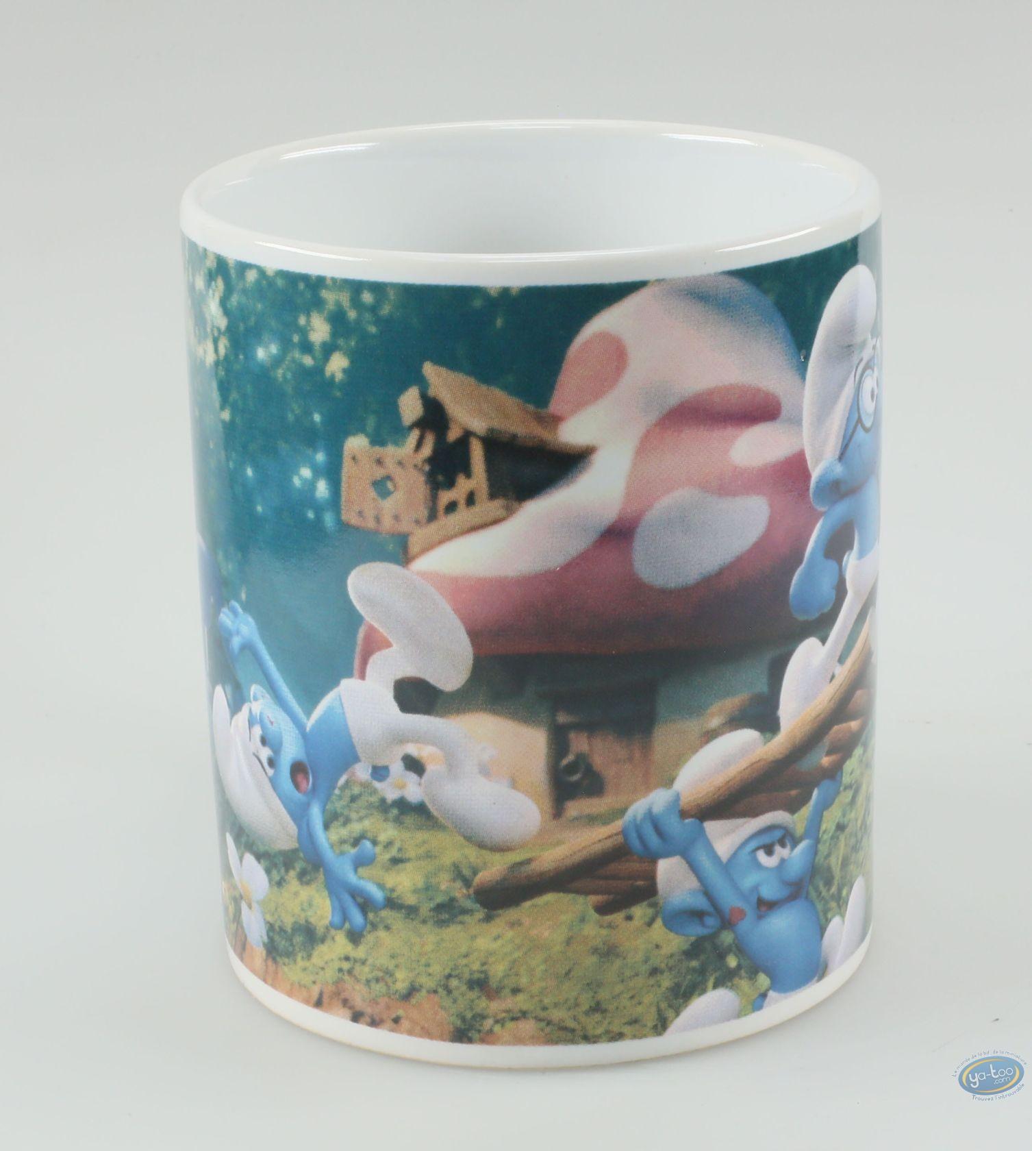 Tableware, Smurfs (The) : Mug Smurf The lost village - Brainy