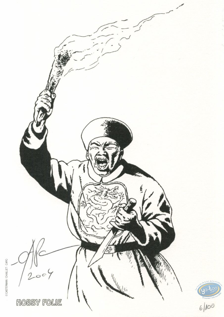 Bookplate Offset, Tombelaine : Chinese shouting