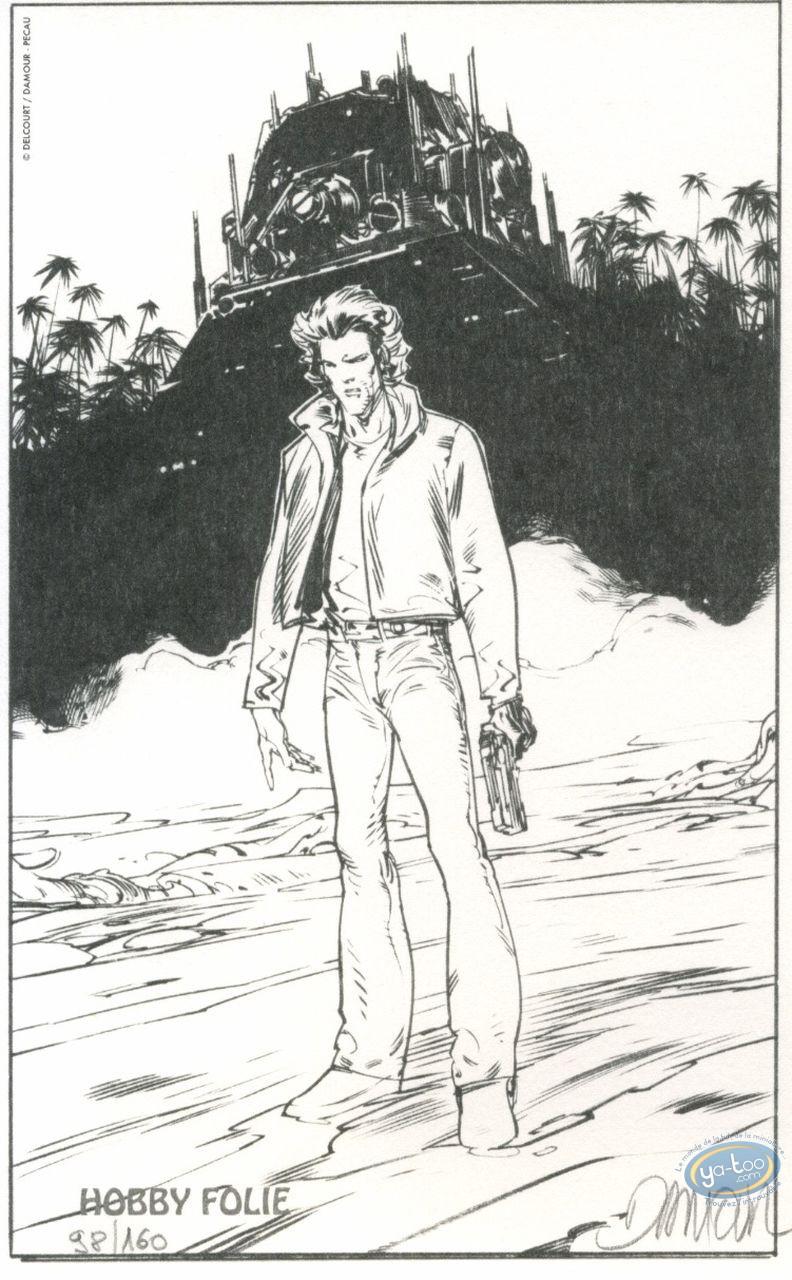 Bookplate Offset, Nash : Nash with a gun