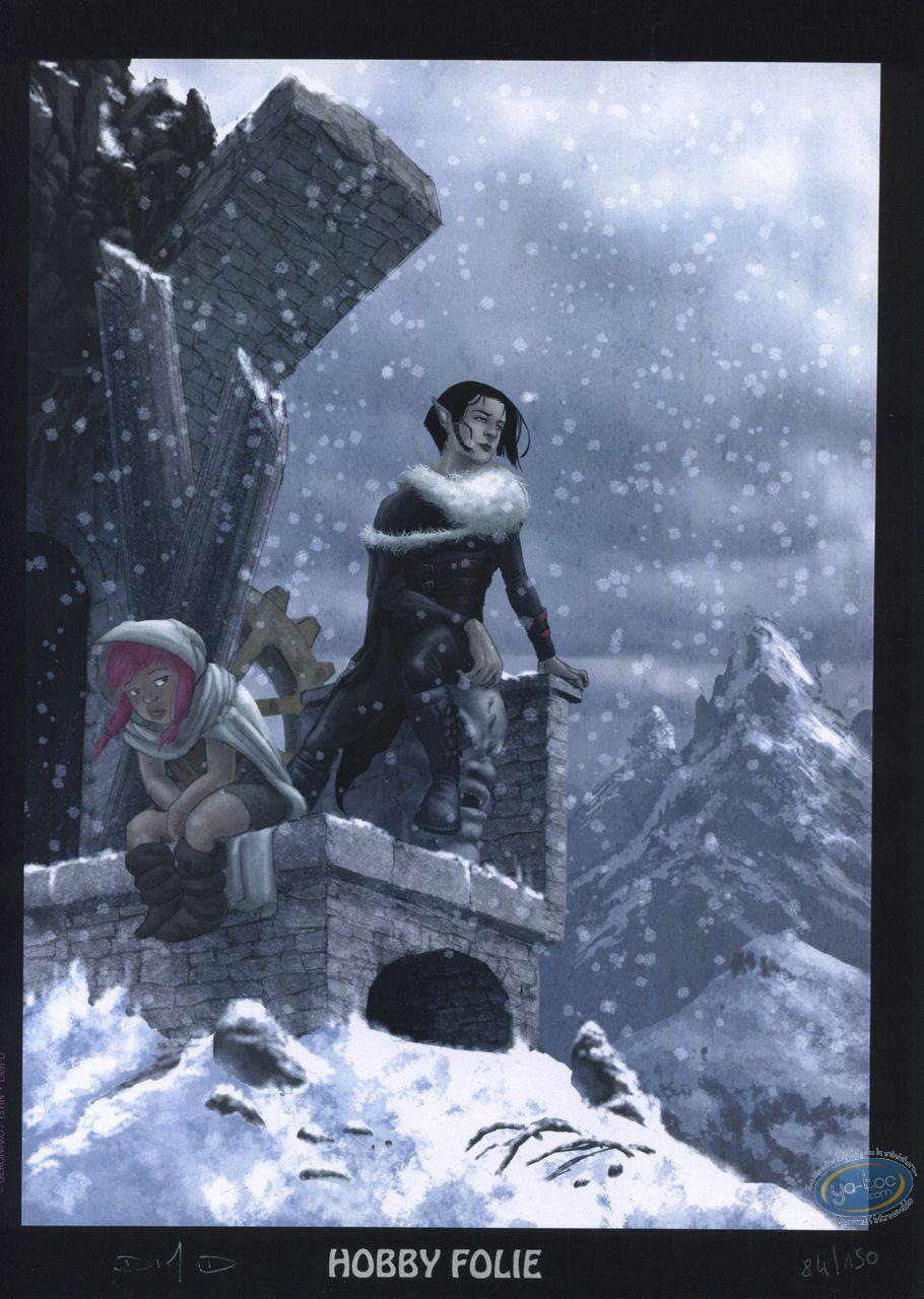 Bookplate Offset, Seigneur d'Ombre (Le) : Snow