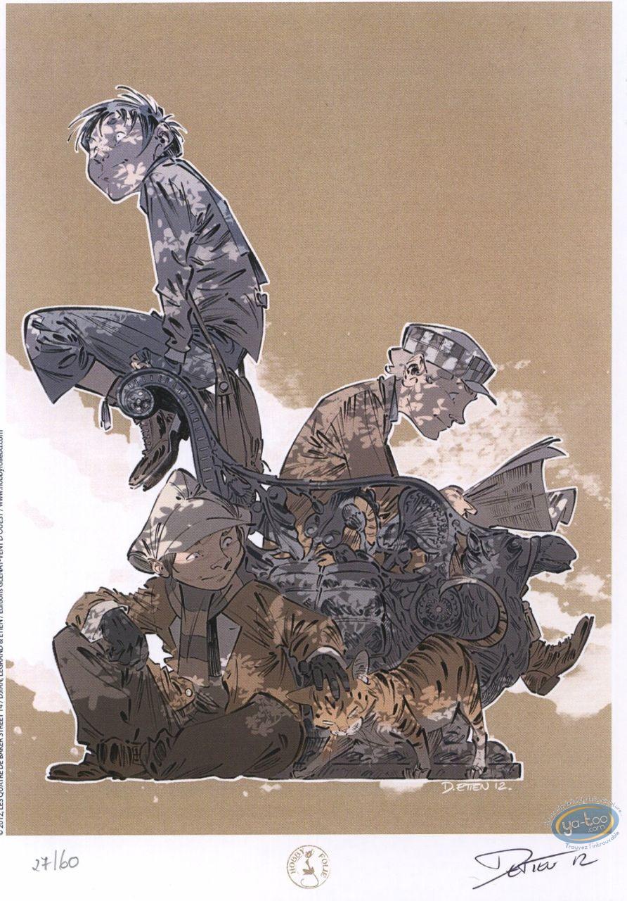 Bookplate Offset, Quatre de Baker Street (Les) : Portrait
