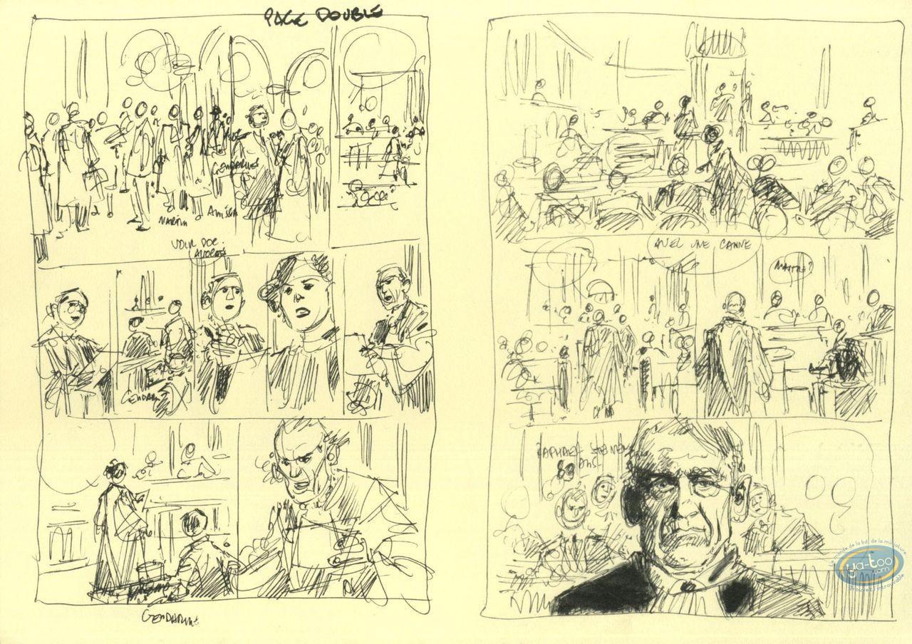 Bookplate Offset, Ordre de Cicéron (L') : Sketchs