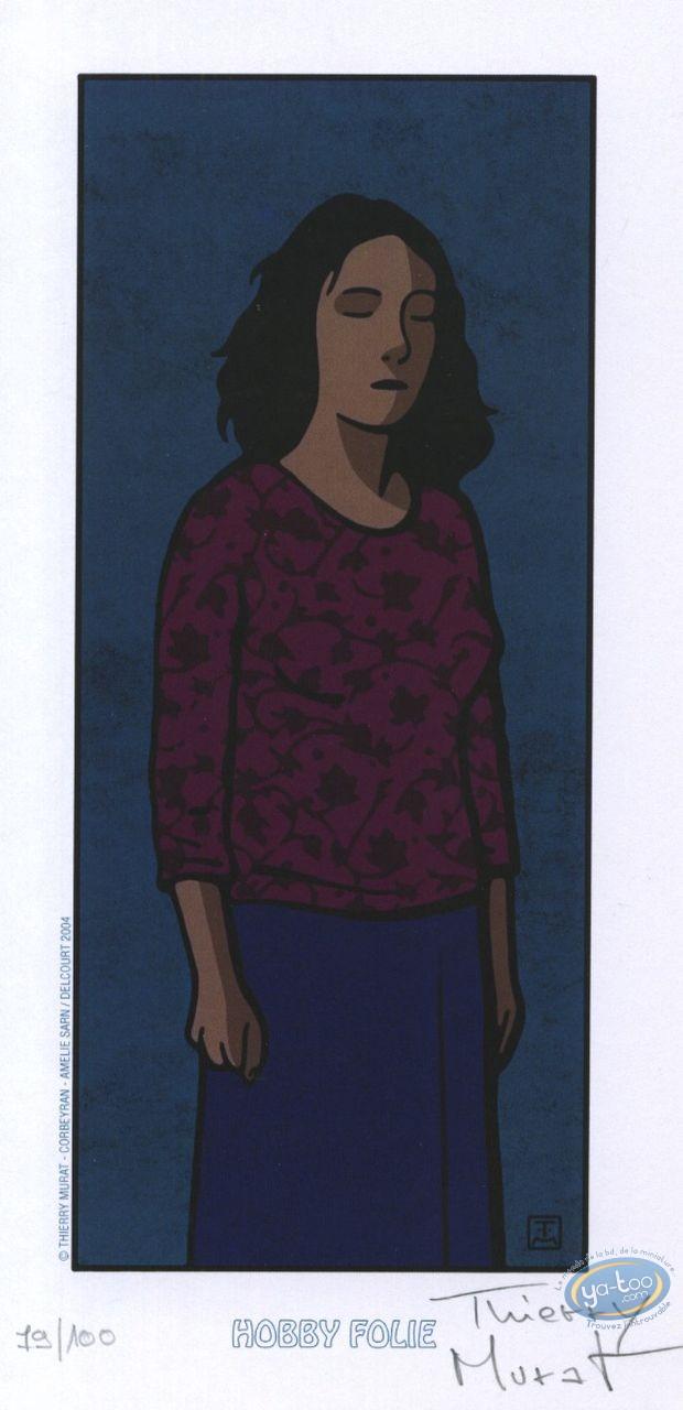 Bookplate Offset, Elle ne Pleure pas Elle Chante : Woman
