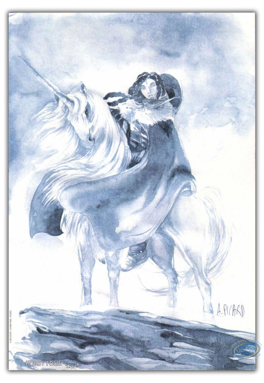 Bookplate Offset, Weëna : Unicorn