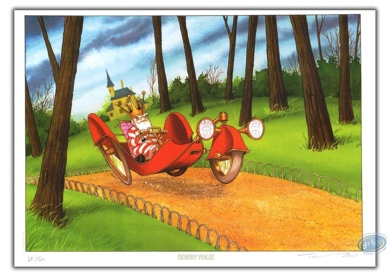 Bookplate Offset, Nef des Fous (La) : Elastomobile