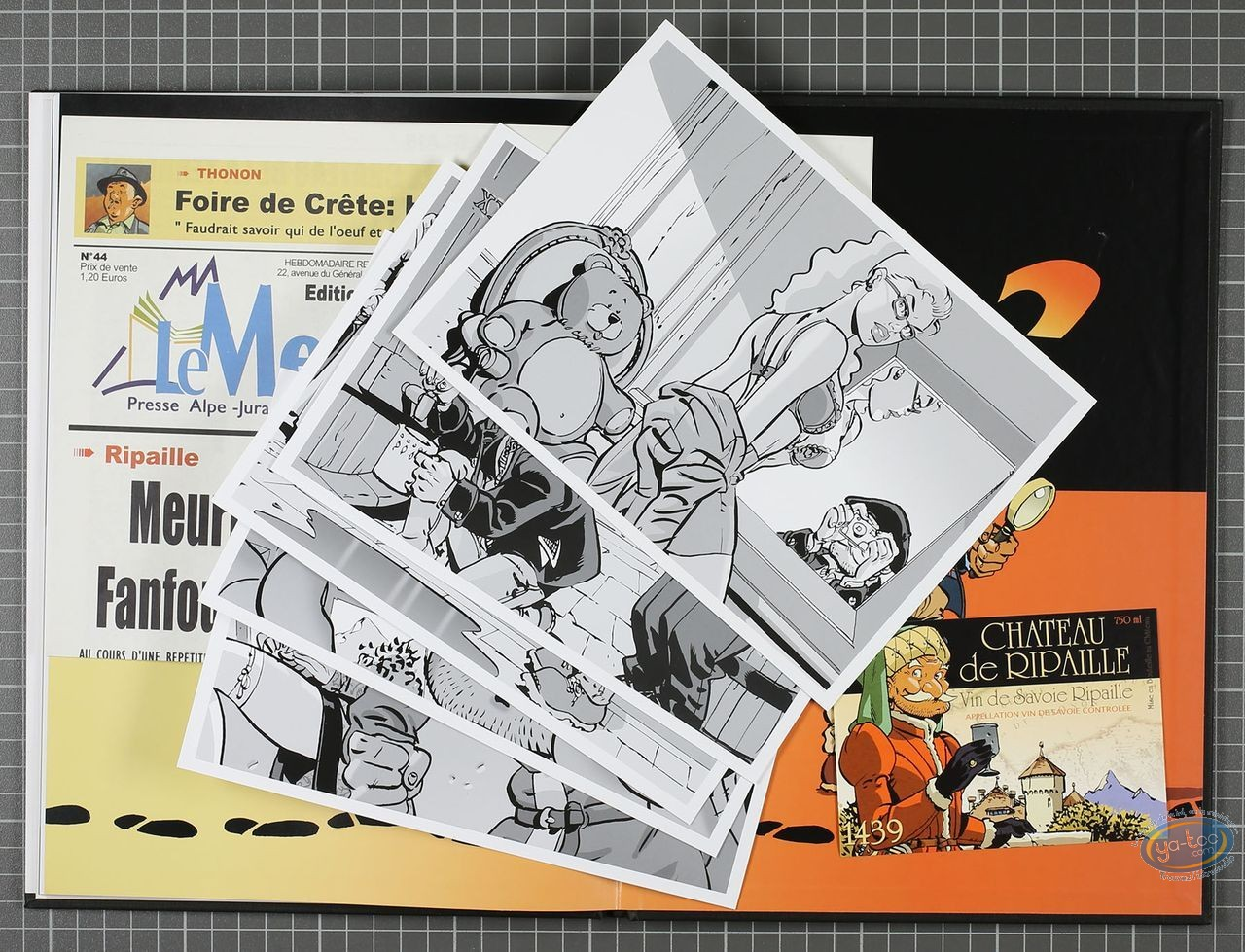 Limited First Edition, Fanfoué : Pas de Ripaille pour Fanfoué