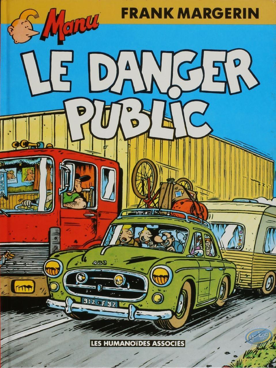 Used European Comic Books, Manu : Manu, Le Danger Public
