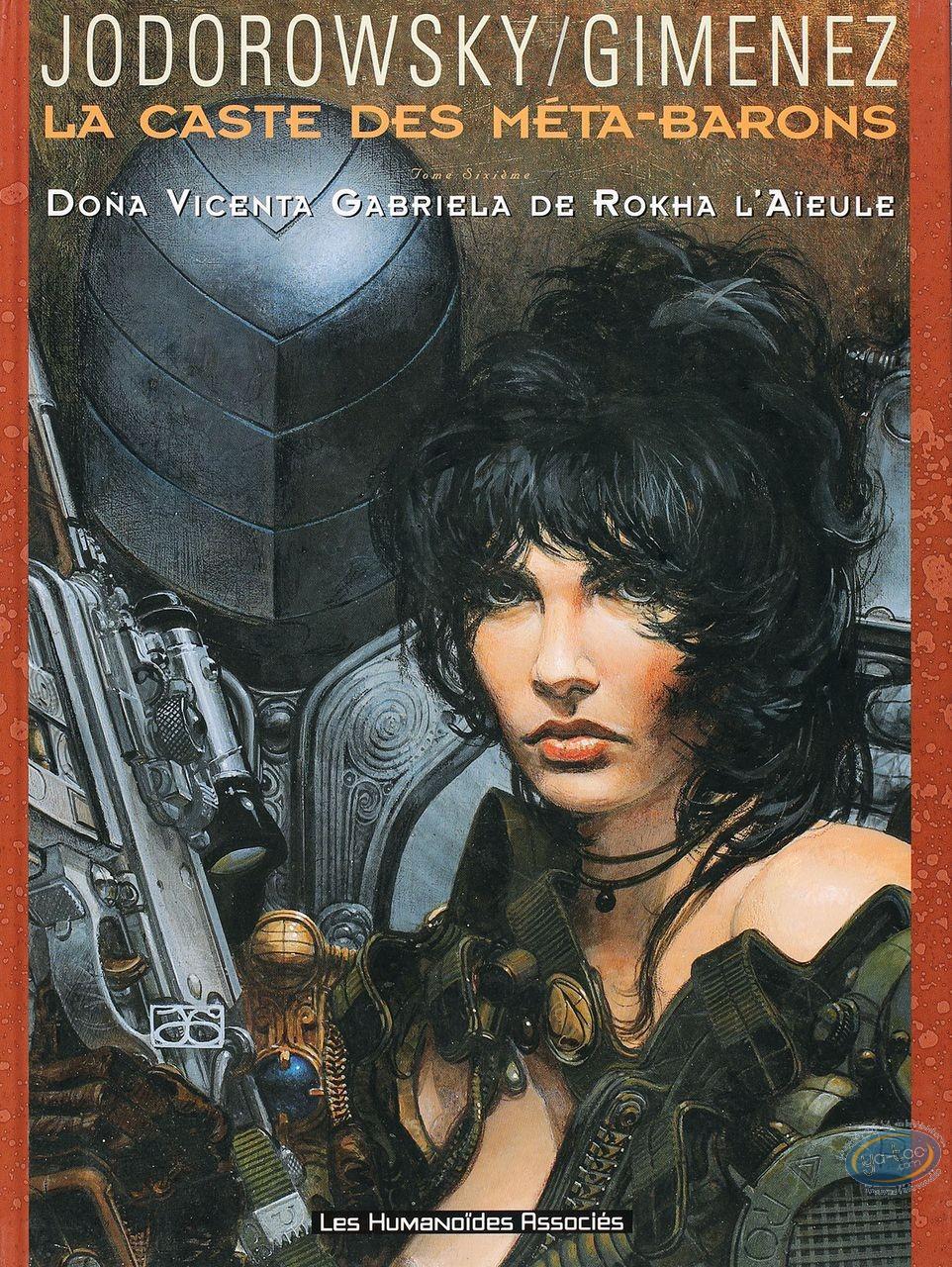 Listed European Comic Books, Caste des Métas-Barons (La) : Dona Vicenta Gabriela de Rokha l'Aïeule
