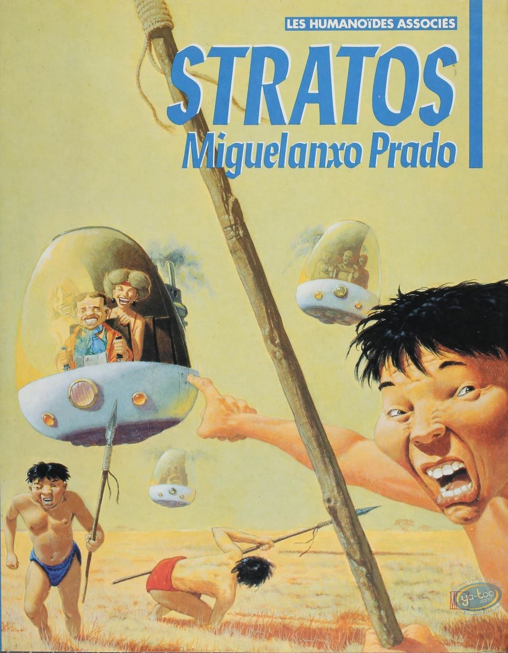 Listed European Comic Books, Stratos : Stratos