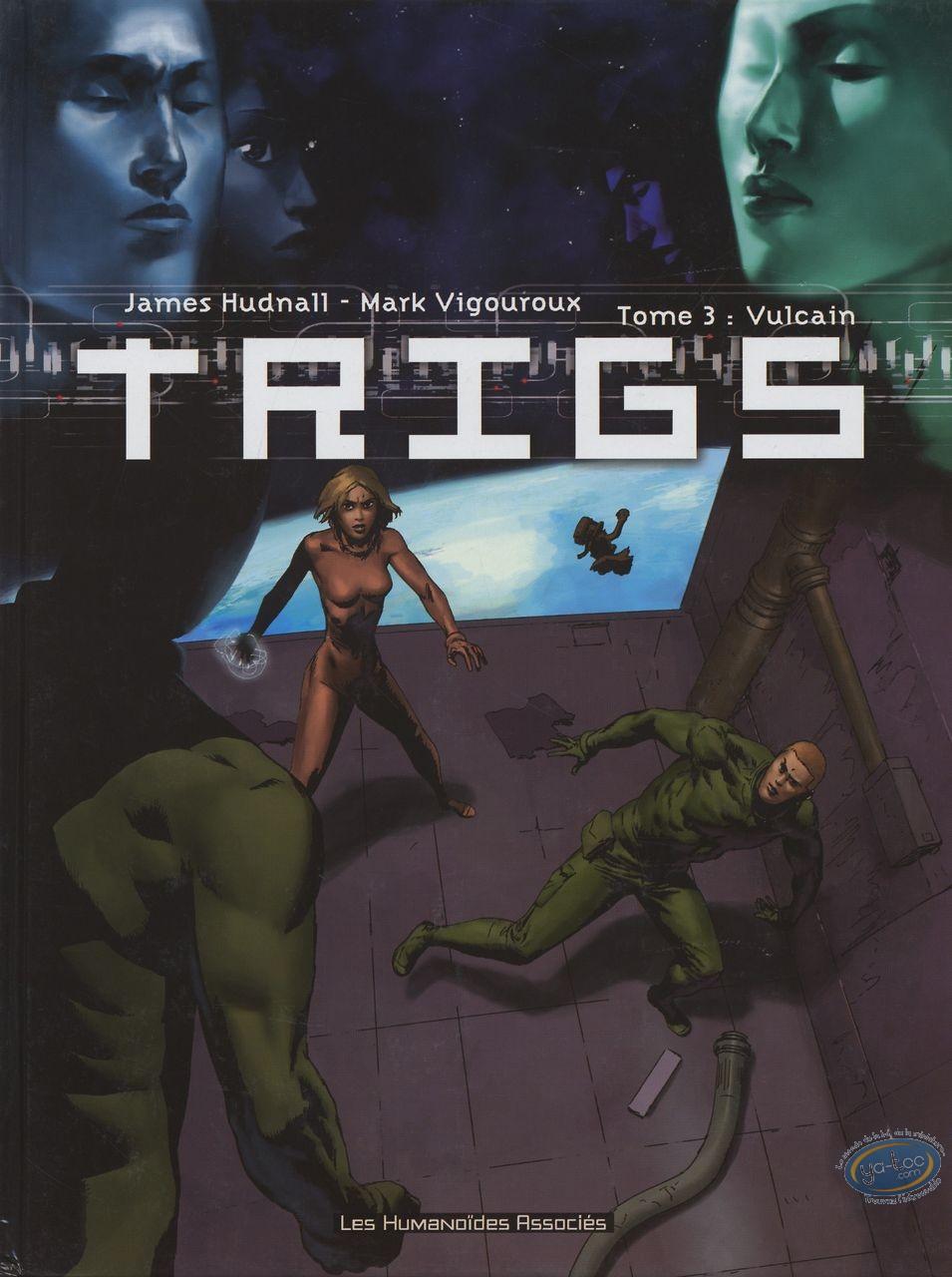 Reduced price European comic books, TRIGS : T3 - Vulcain