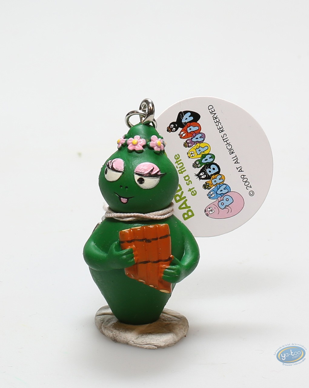 Figurine plastique Barbapapa Barbabelle et Francois
