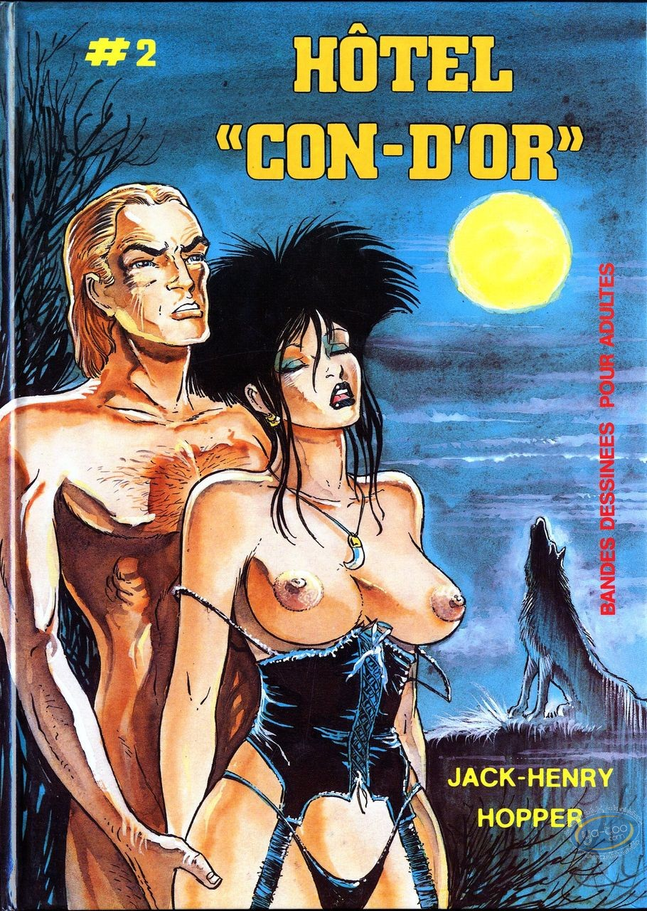 Adult European Comic Books, Hotel con-d'or