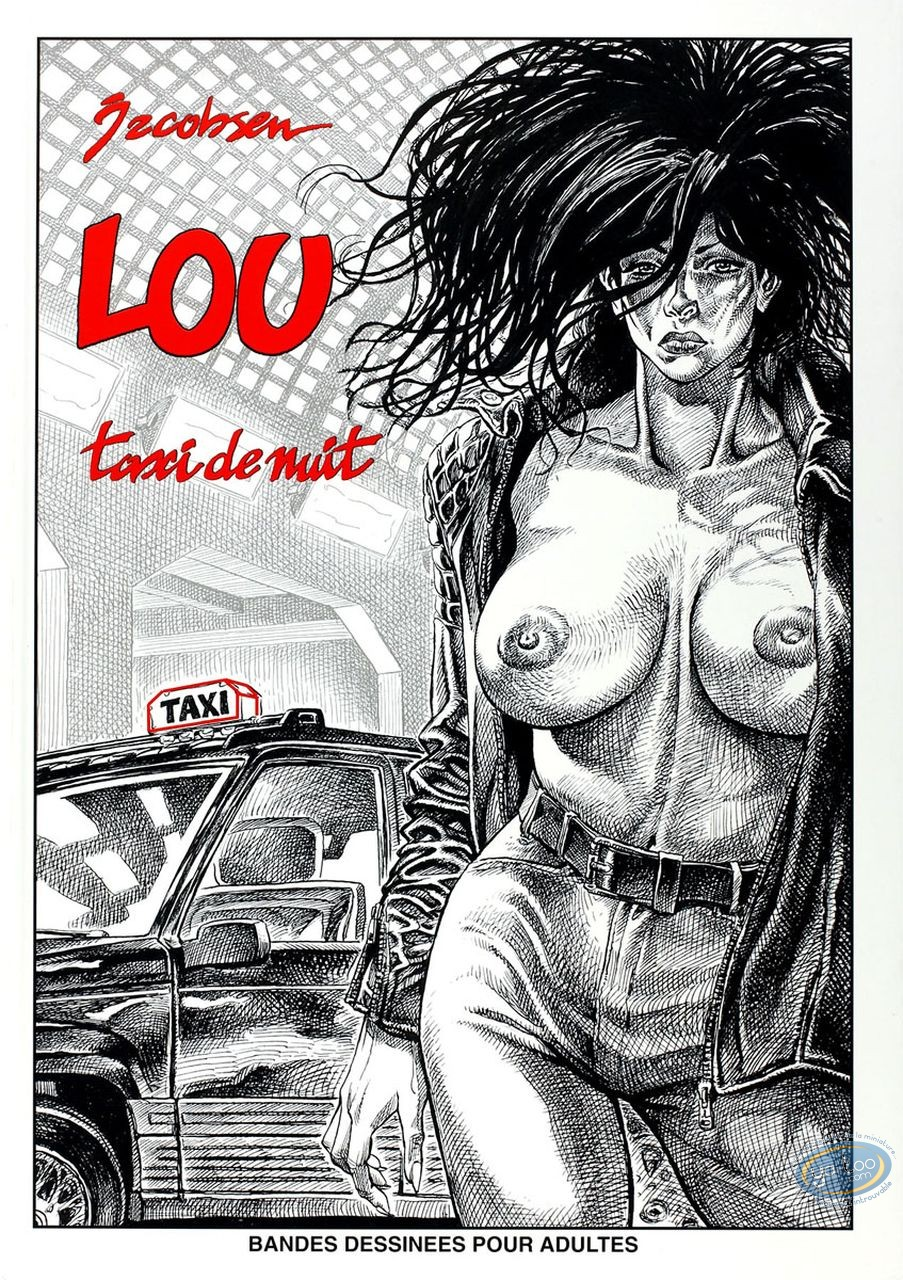 Adult European Comic Books, Lou Taxi de Nuit