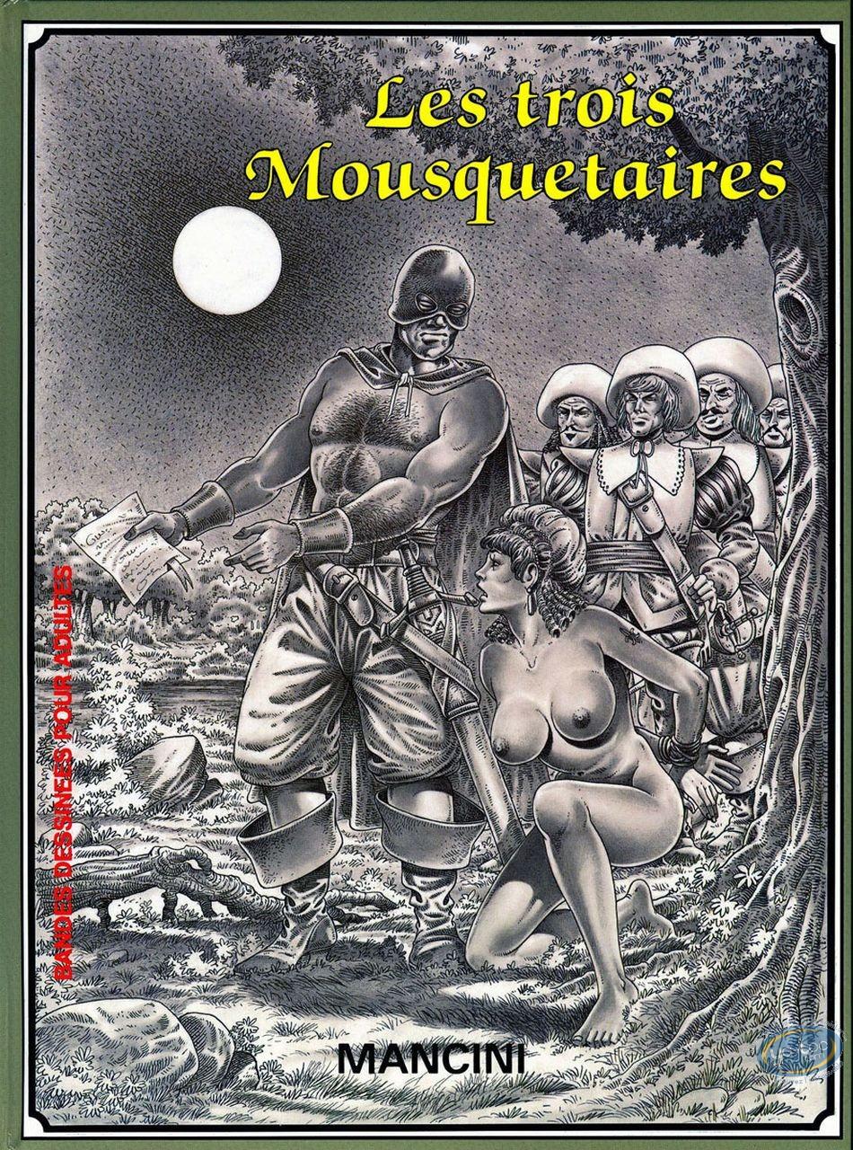 Adult European Comic Books, Les trois mousquetaires