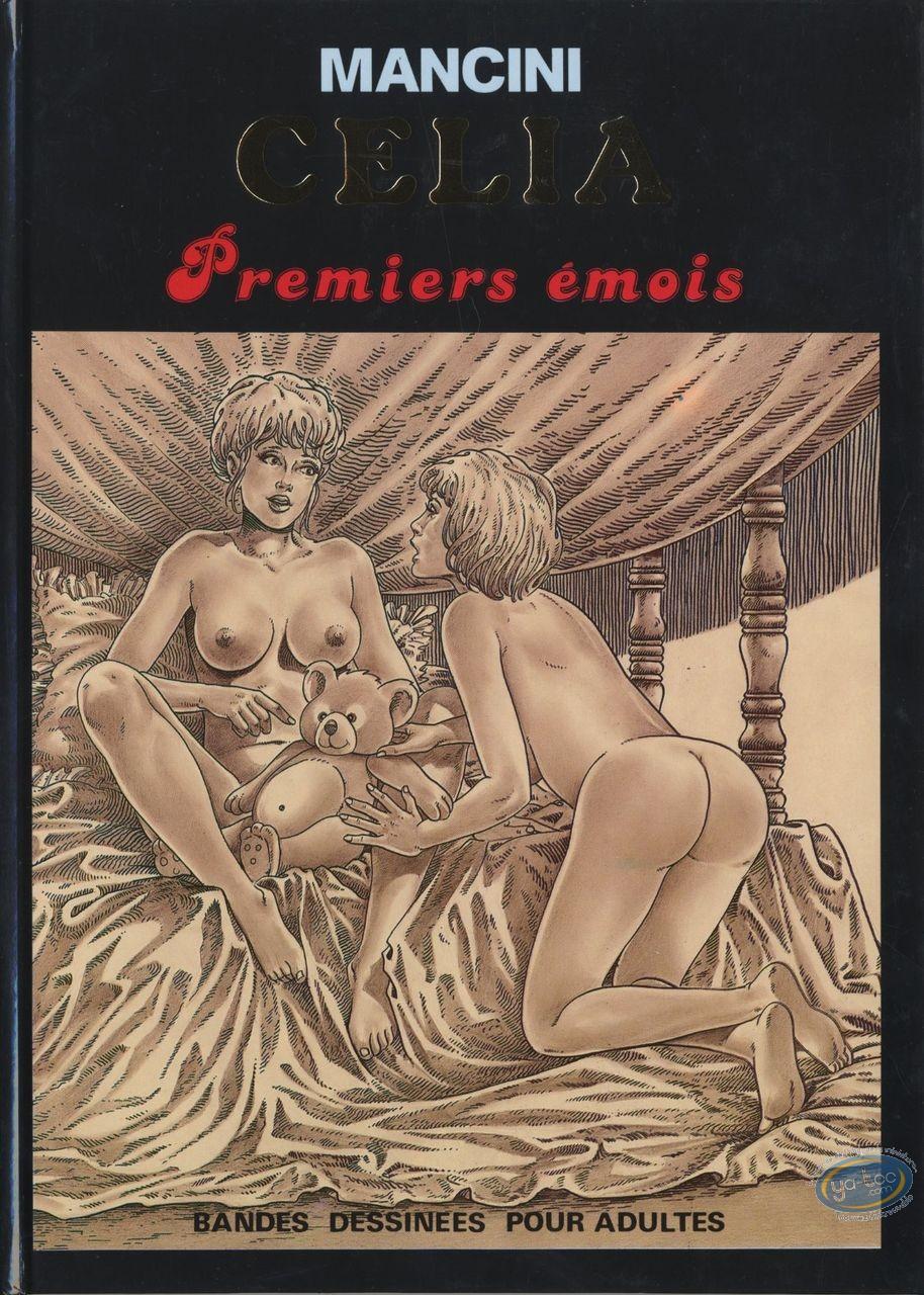 Adult European Comic Books, Célia : Celia  Premiers émois (+2)