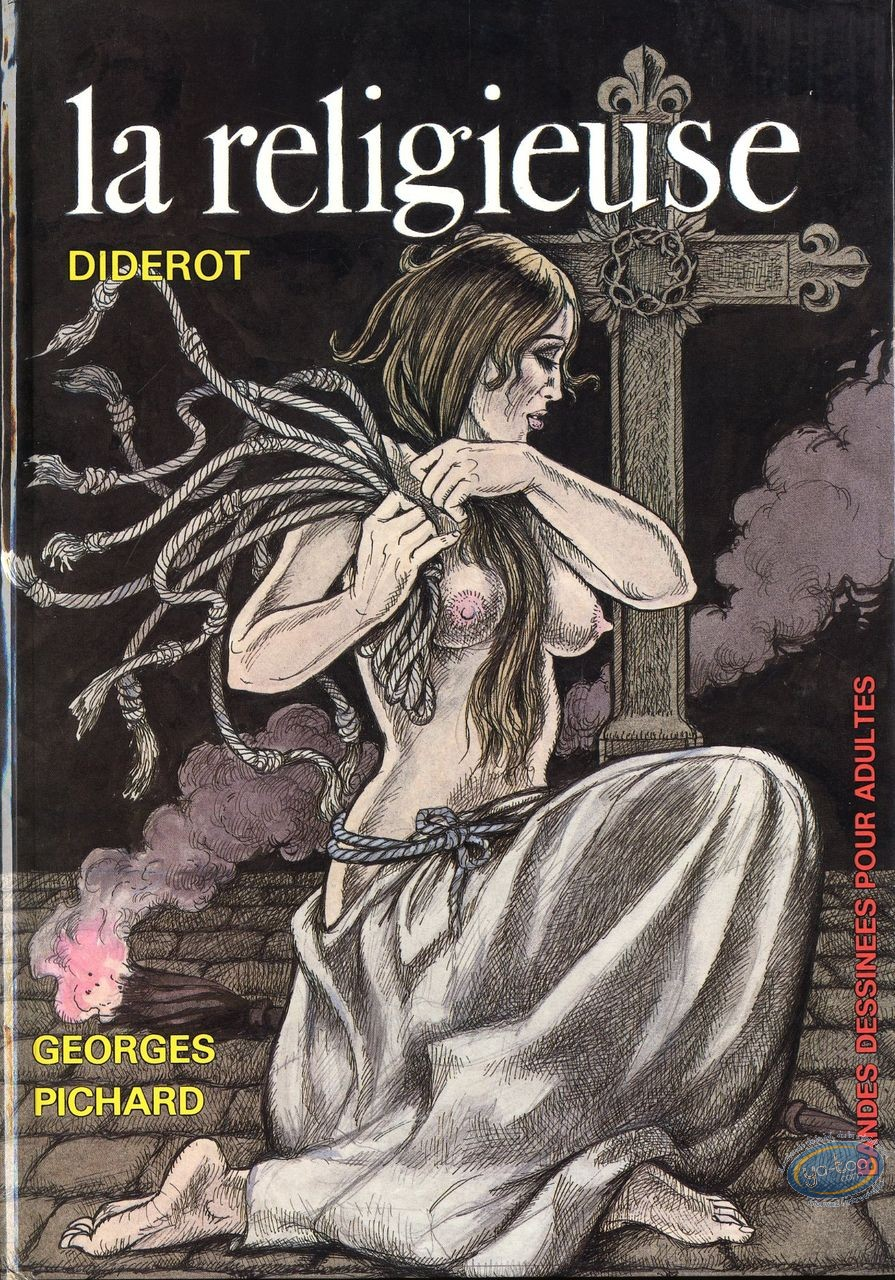 Adult European Comic Books, La religieuse
