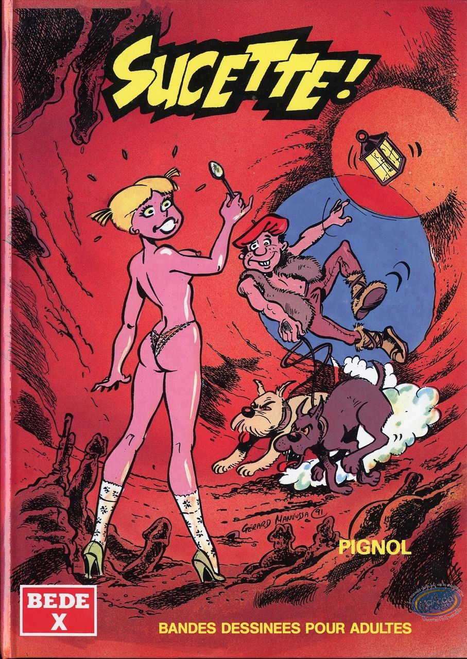 Adult European Comic Books, Sucette