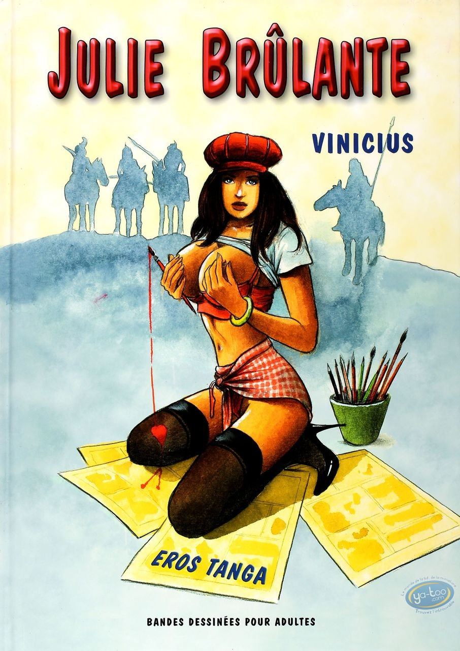 Adult European Comic Books, Julie brûlante