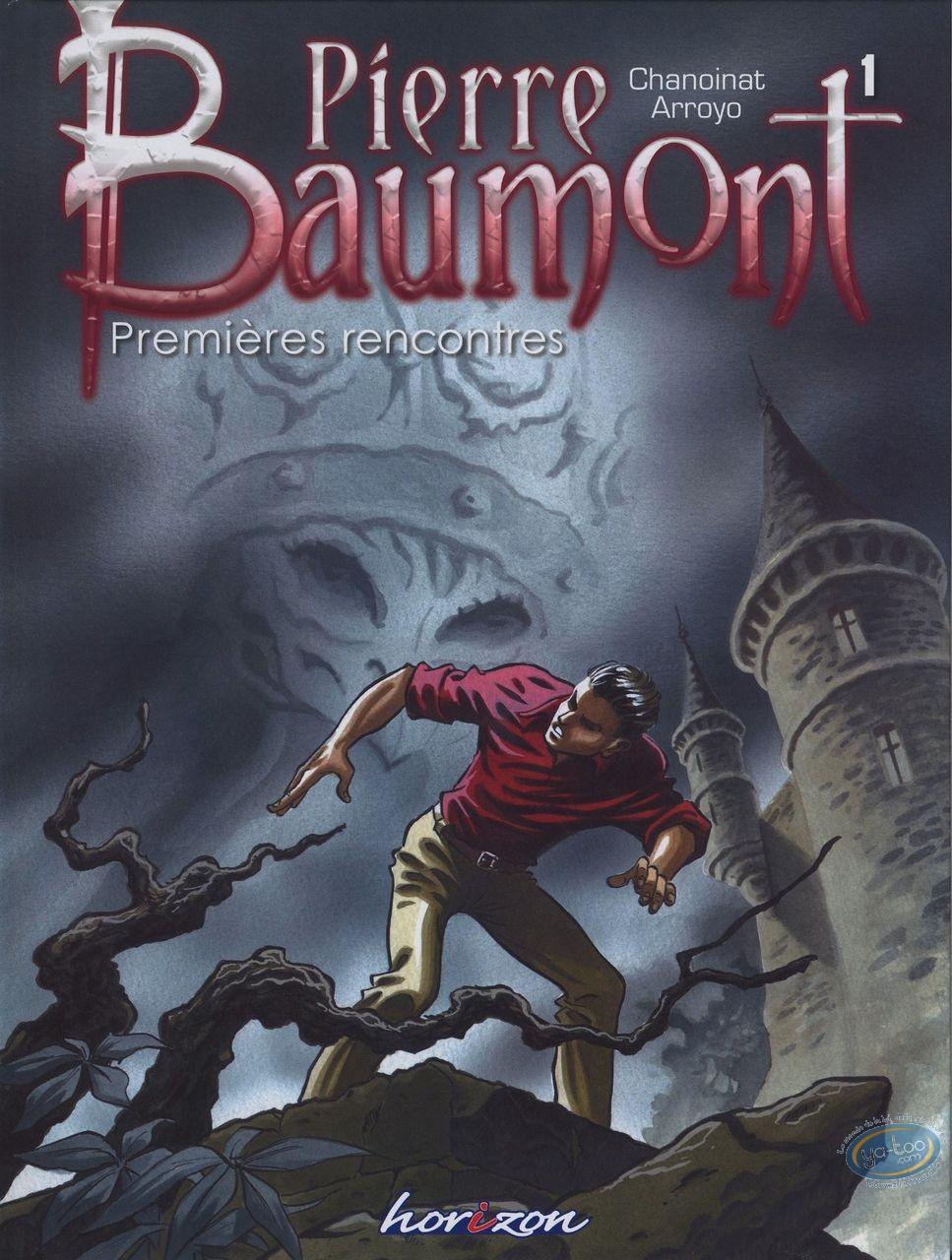 European Comic Books, Pierre Baumont : Premieres rencontres
