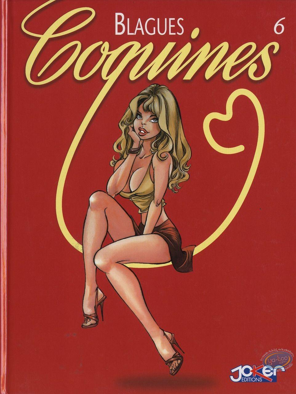 Adult European Comic Books, Blagues Coquines : Blagues Coquines, Vol 6