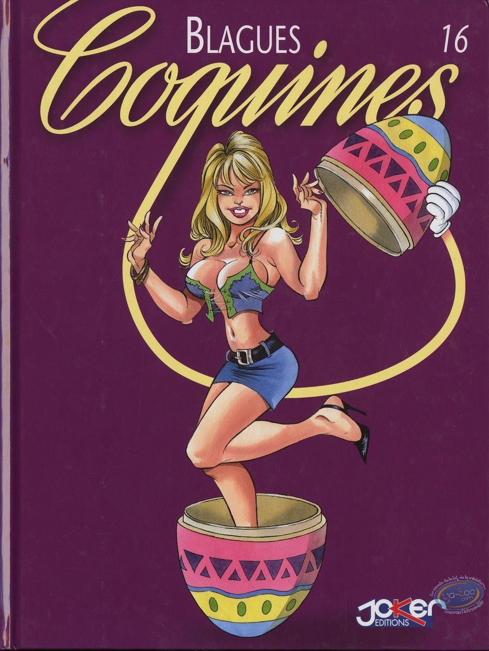 Adult European Comic Books, Blagues Coquines : Blagues Coquines, Vol 16