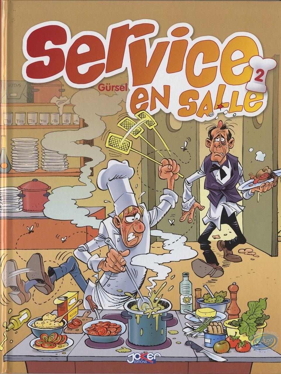 European Comic Books, Restauration (La) : Service en salle