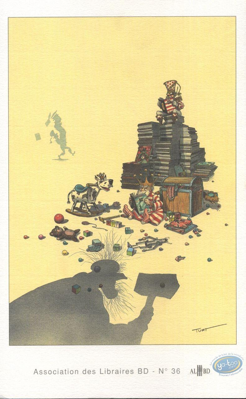 Bookplate Offset, Nef des Fous (La) : Reading