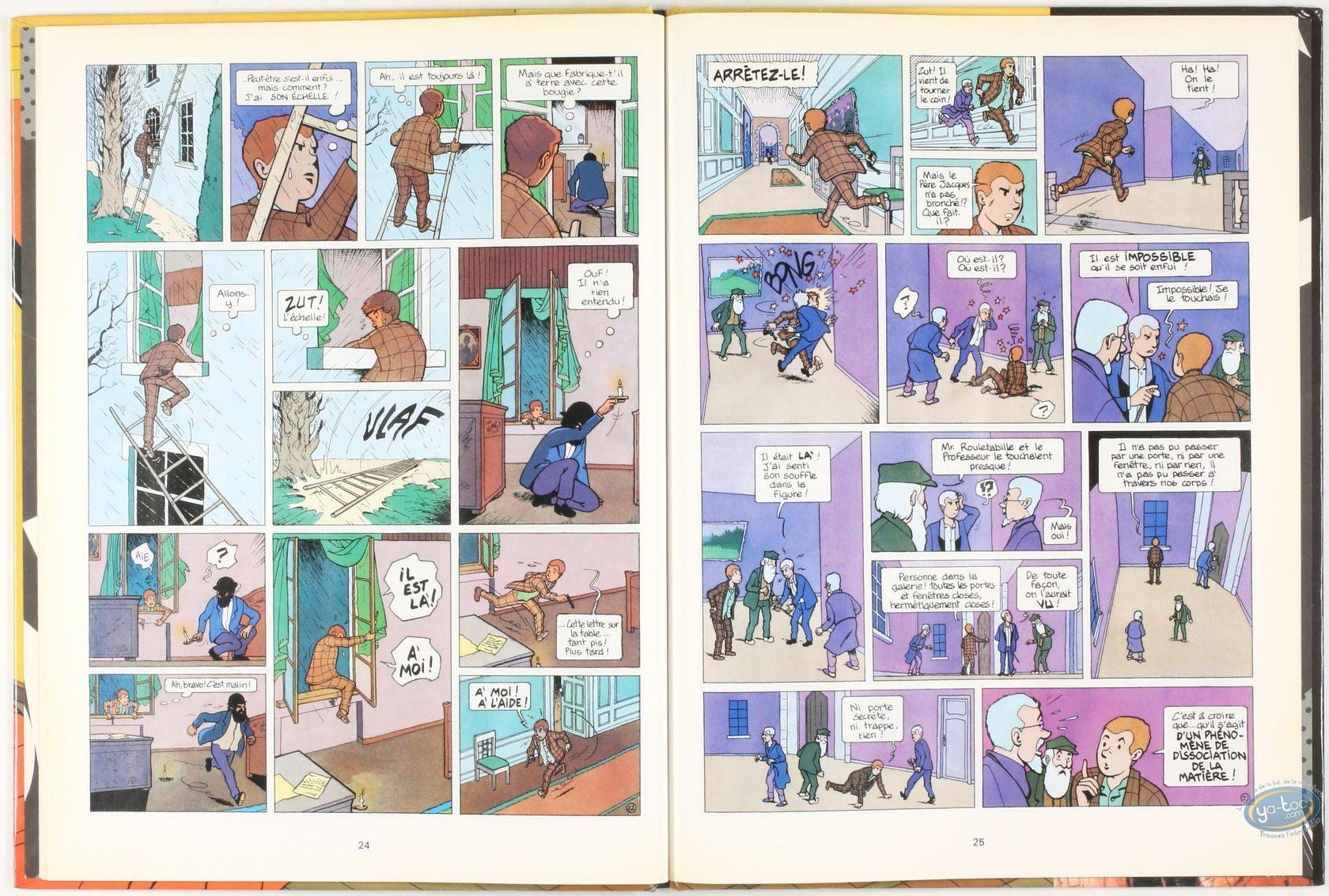 Listed European Comic Books, Joseph Rouletabille : Le mystère de la chambre jaune + Autograph