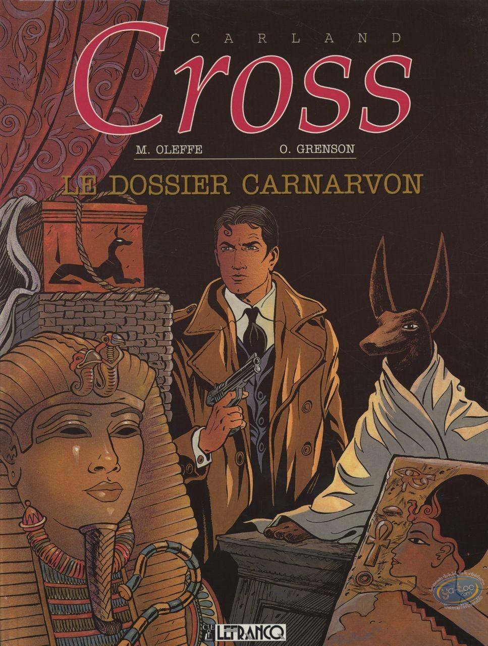 Reduced price European comic books, Carland Cross : Le Dossier Carnarvon
