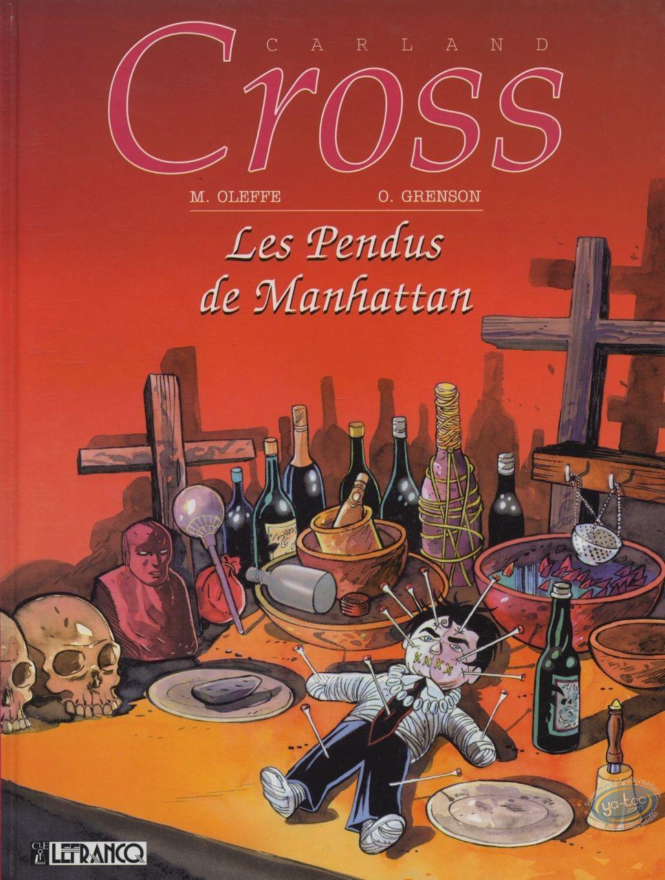 Used European Comic Books, Carland Cross : Les Pendus de Manhattan