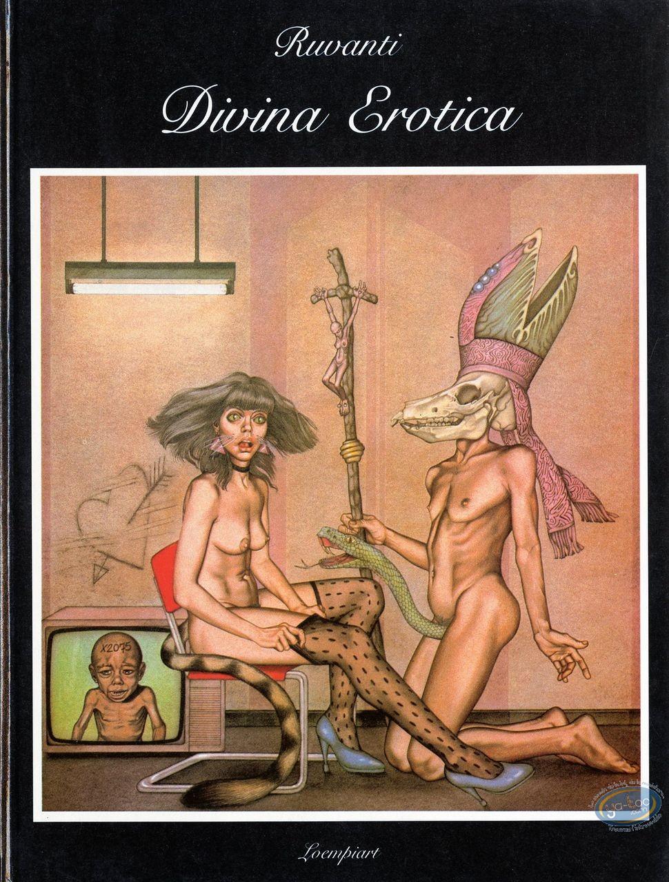 Erotic european cartoon