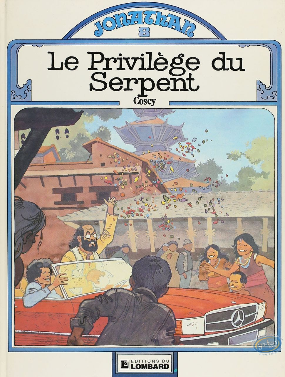 Listed European Comic Books, Jonathan : Le Privilege du Serpent