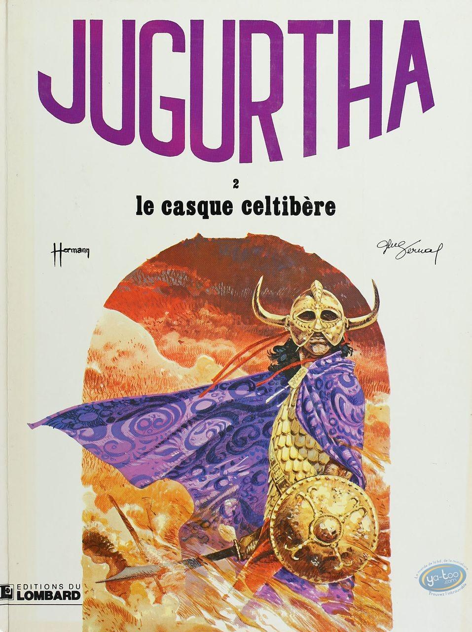 Listed European Comic Books, Jugurtha : Le casque celtibere (very good condition)