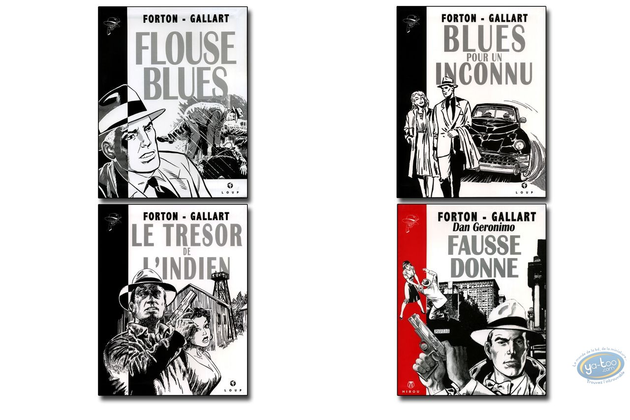Reduced price European comic books, Dan Geronimo : Collection Borsalino