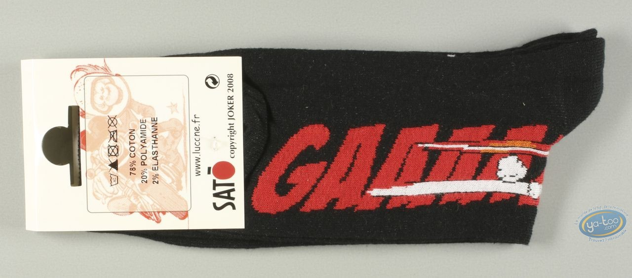 Clothes, Même pas Peeur : Socks, Gaaaaz YAMAHA - noires