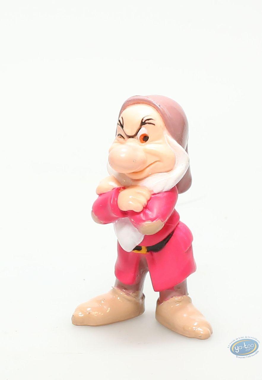 Plastic Figurine, Snow-white : Grumpy