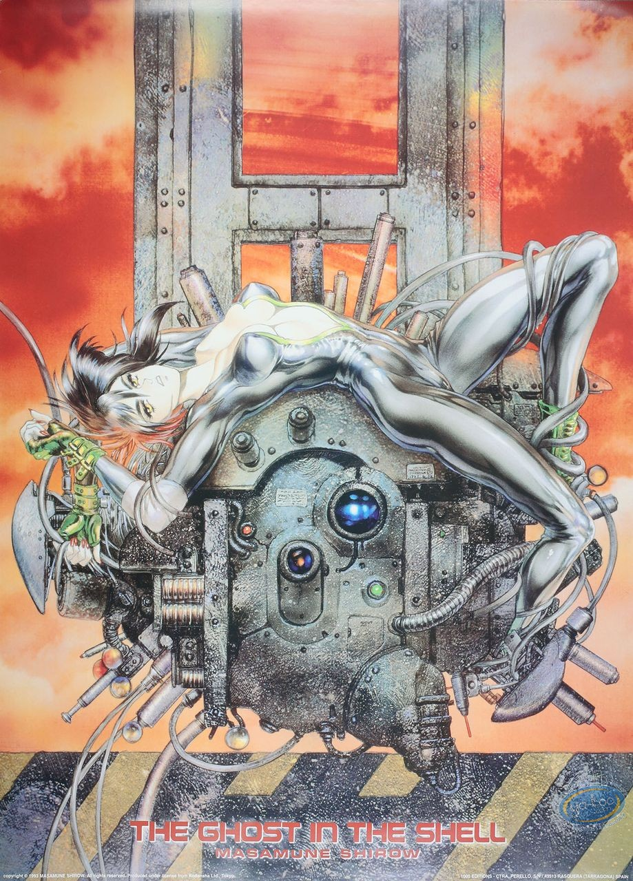 Offset Print, Ghost in the Shell : Ghost in the Shell 2