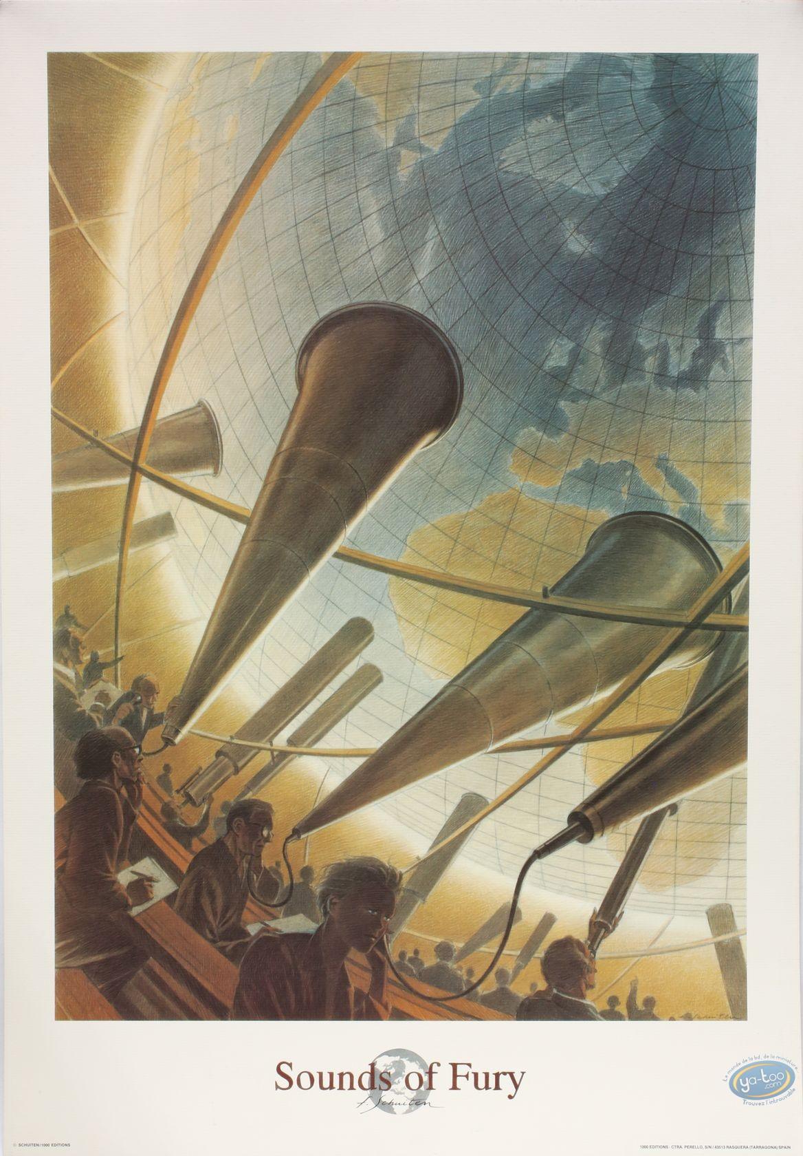 Offset Print, Cités Obscures (Les) : Sounds of Fury