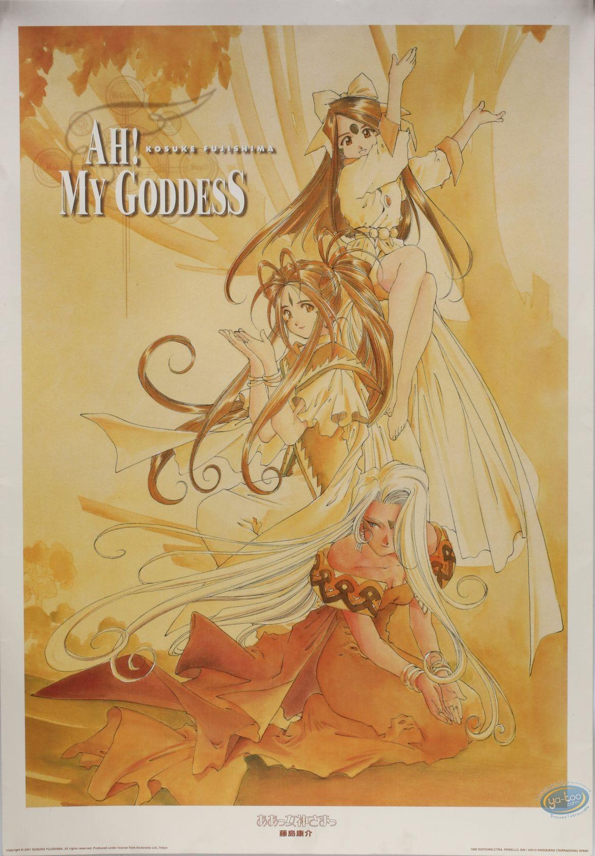 My Goddess 7 1000 Editions Affiche Offset Ah My Goddess Ah