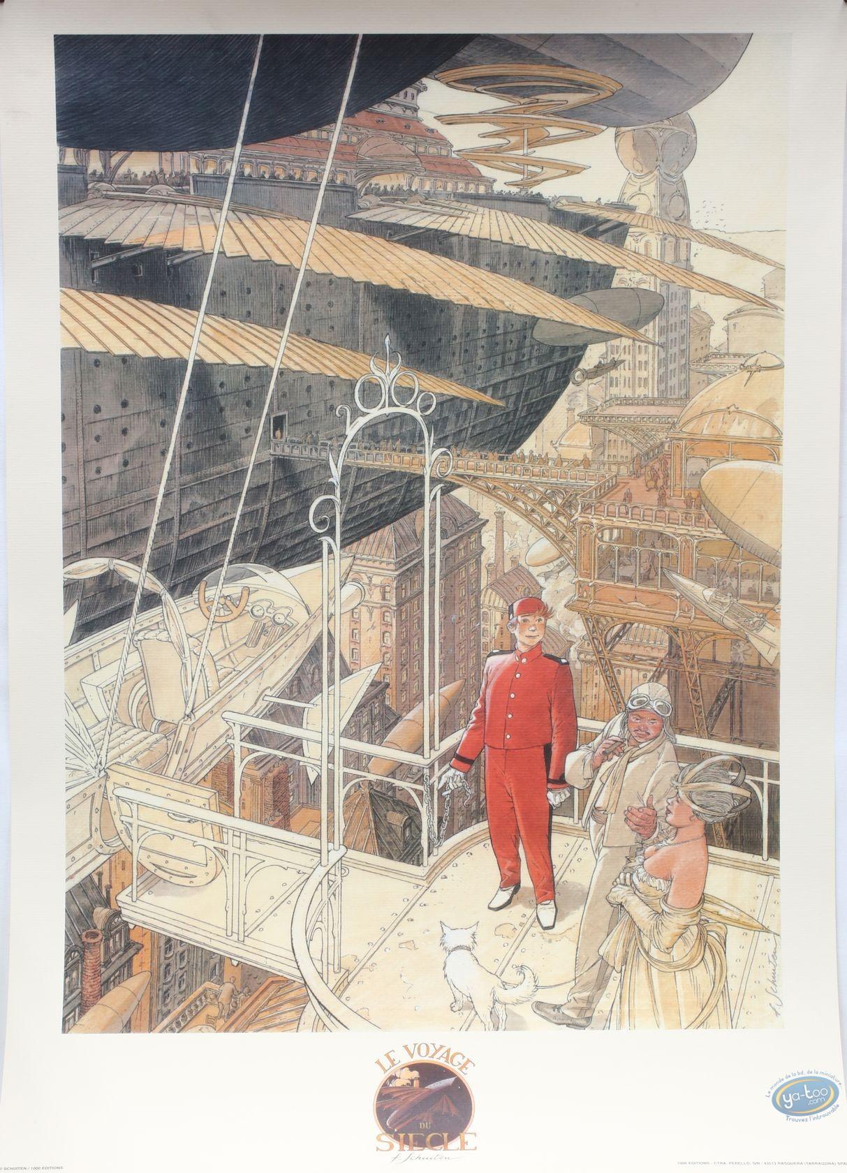 Offset Print, Cités Obscures (Les) : The journey of the century