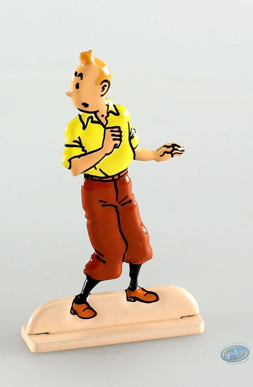 Metal Figurine, Tintin : The Secret of The Unicorn (bas-relief)