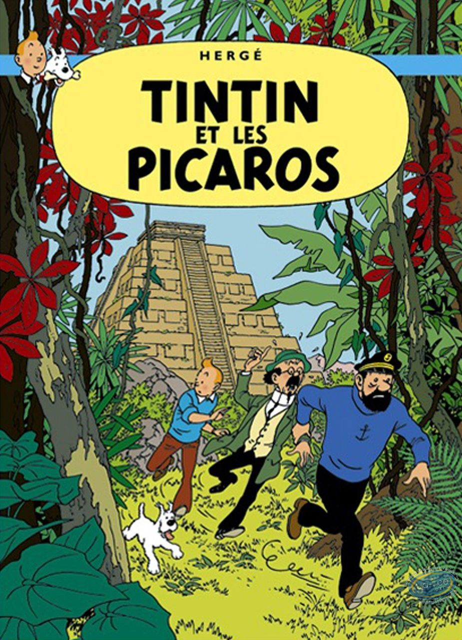 Offset Print, Tintin : Tintin and the Picaros
