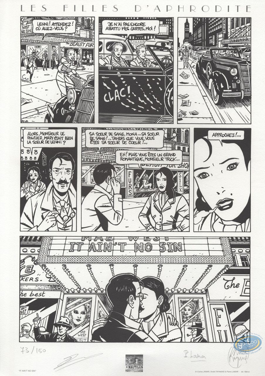 Offset Print, Filles d'Aphrodite (Les) : Page